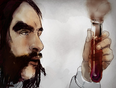 dr jekyll adn mr hyde illustration