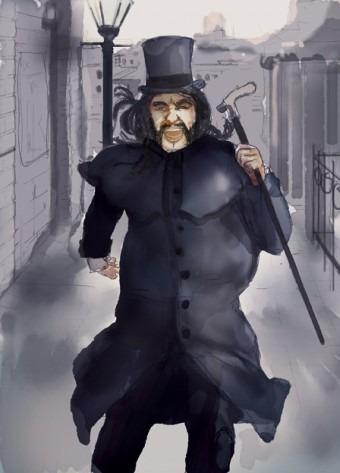 dr jekyll adn mr hyde illustration