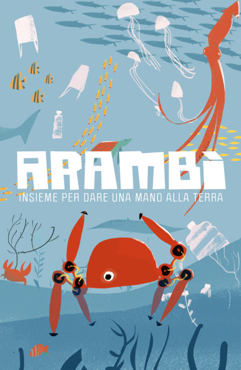 Cover Arambì, kid illustration